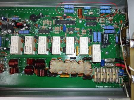Размещение перемычки входного аттенюатора до симметрирующего трансформатора
