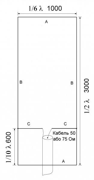 Проста та ефективна антена на 50МГц