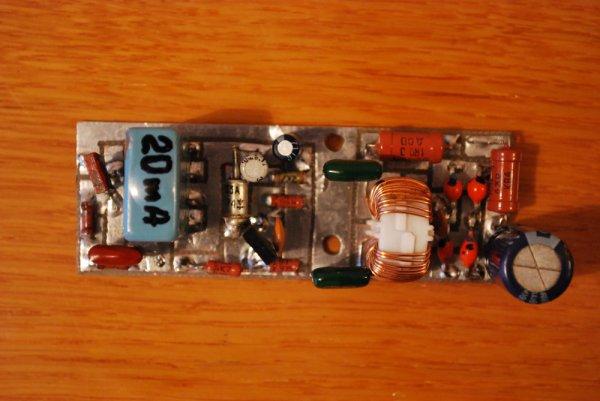 УКВ усилитель мощности на металлокерамическом триоде ГИ-21Б