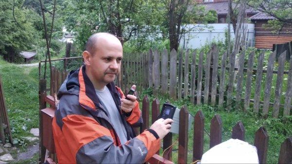 Радіоекспедиція г. Маковиця - г. Рокита
